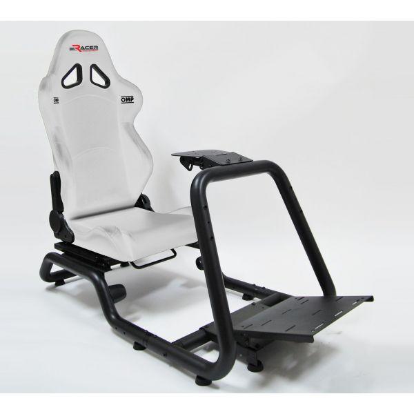 BeRacer®  Racing Seat White