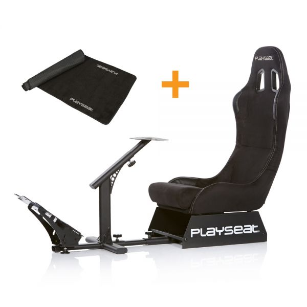 Playseat® Evolution Alcantara + Floor Mat