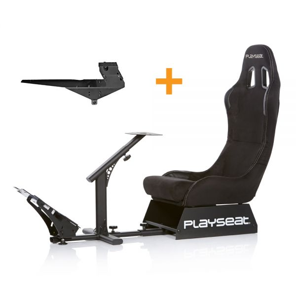 Playseat® Evolution Alcantara + Gearshift Holder Pro