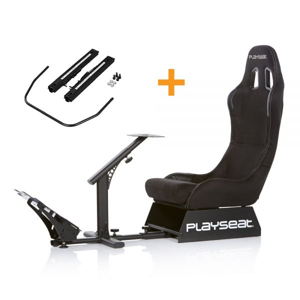 Playseat® Evolution Alcantara + Seat Slider