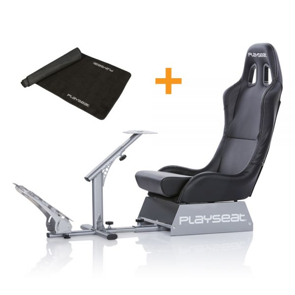 Playseat® Evolution Black + Floor Mat