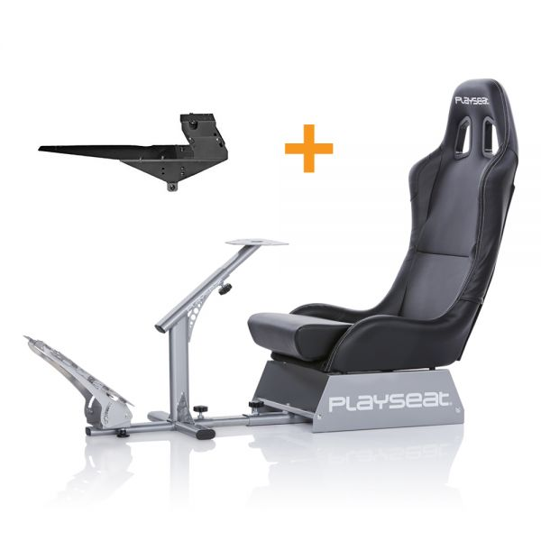 Playseat® Evolution Black + Gearshift Holder Pro