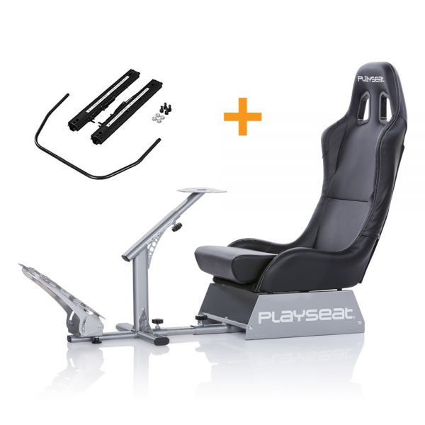 Playseat® Evolution Black + Seat Slider