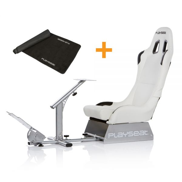 Playseat® Evolution White + Floor Mat