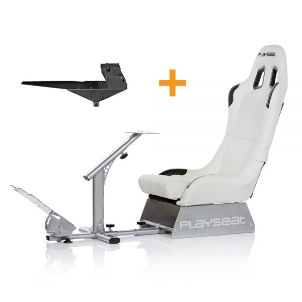 Playseat® Evolution White + Gearshift Holder Pro