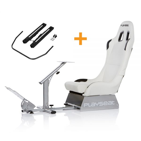 Playseat® Evolution White + Seat Slider