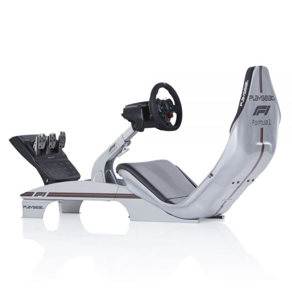 Playseat® F1 Silver - Official licensed + Logitech G29