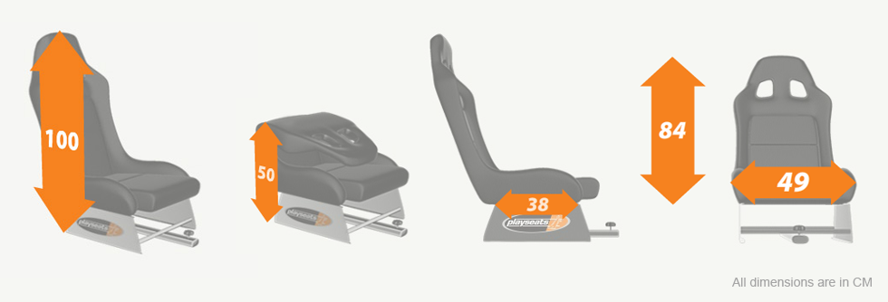 Playseat® chair specifications