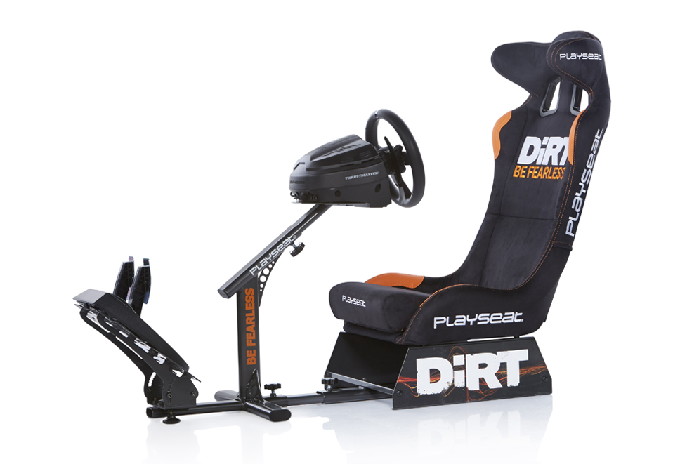 Playseat® DiRT 4 and Thrustmaster T300 RS bundle