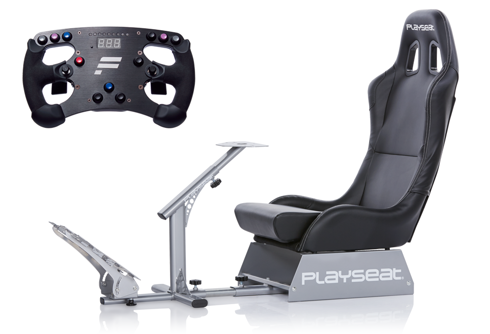 Playseat® Evolution and Fanatec ClubSport Wheel Rim Formula bundle