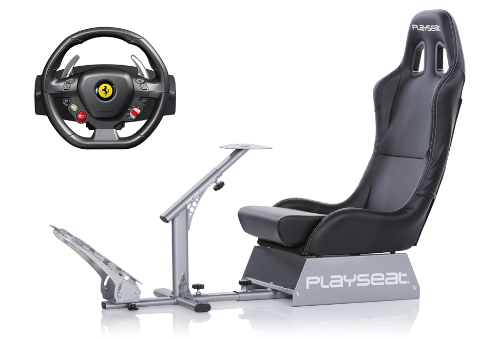 Playseat® Evolution and Thrustmaster Ferrari 458 Italia bundle