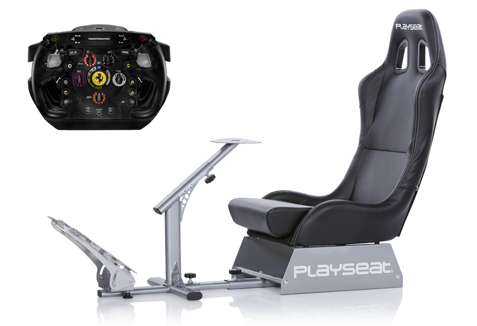 Playseat® Evolution and Thrustmaster Ferrari F1 Wheel Integral bundle