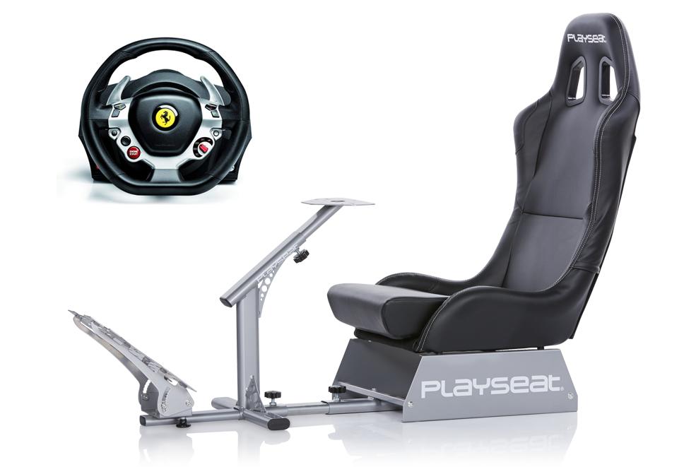 Playseat® Evolution and Thrustmaster TX Racing Wheel Ferrari 458 Italia Edition bundle