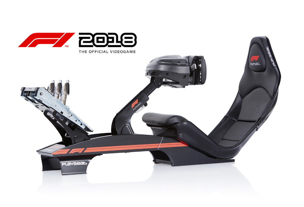 Playseat® F1 Black and Thrustmaster T300 RS F1 bundle
