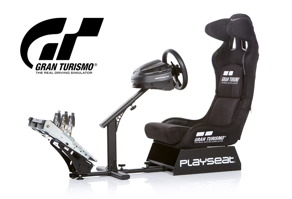 Playseat® Gran Turismo and Thrustmaster T-GT bundle