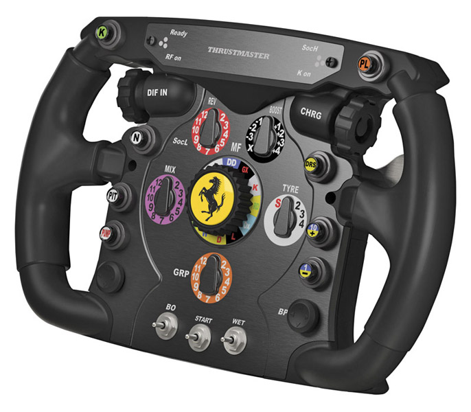 Test du volant Thrustmaster Ferrari F1 Wheel Add-on