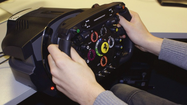Thrustmaster Ferrari F1 Wheel Integral review