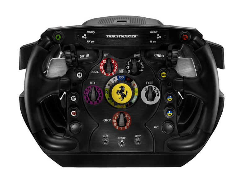 Thrustmaster Ferrari F1 Wheel Integral T500 review