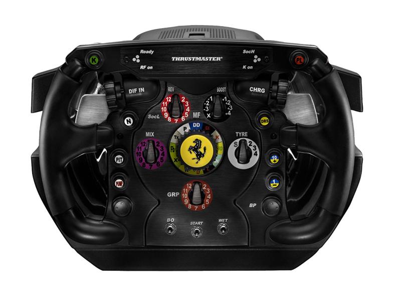 Revisión del volante Thrustmaster Ferrari F1 Wheel Integral T500