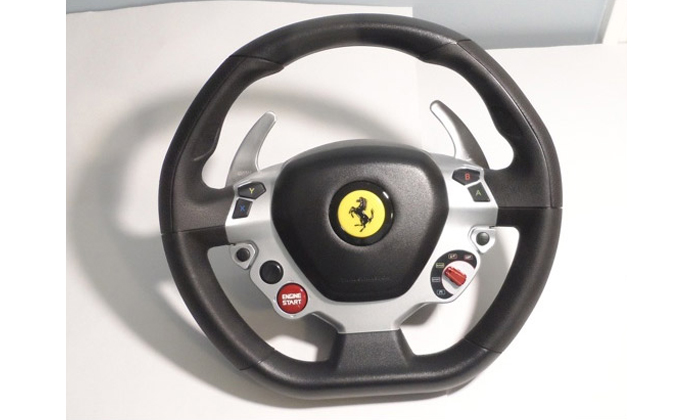 Thrustmaster TX Racing Wheel Ferrari 458 Italia Edition review