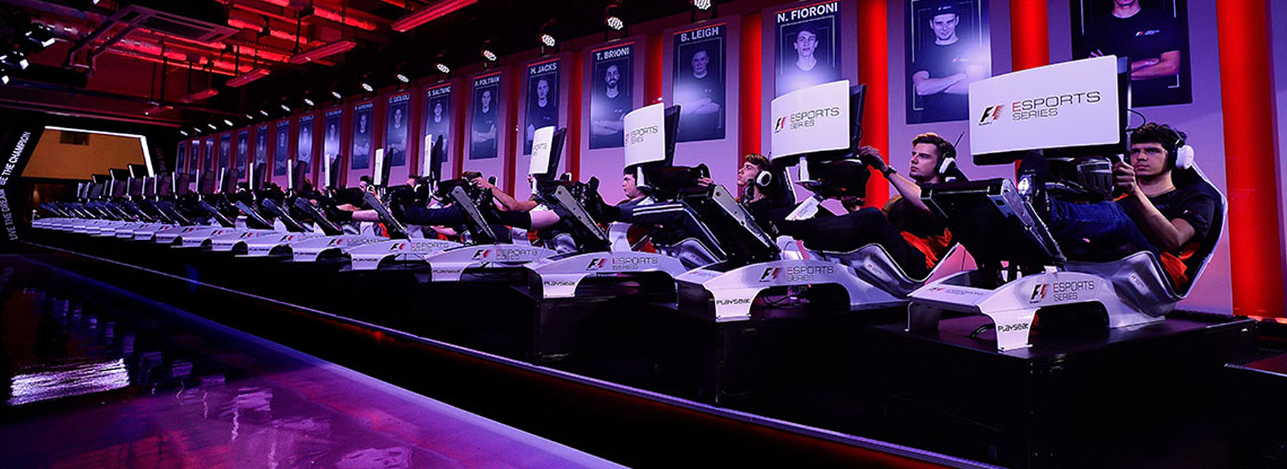 Playseat® F1 White and F1 Esport Series competition